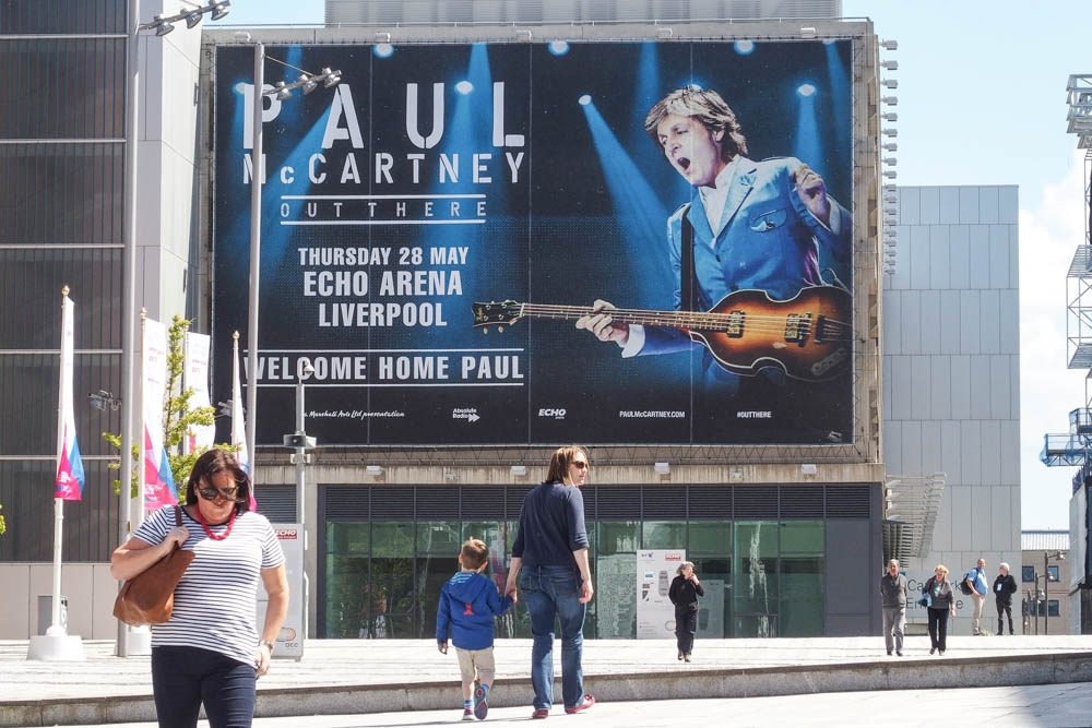Konzertplakat Paul McCartney Liverpool