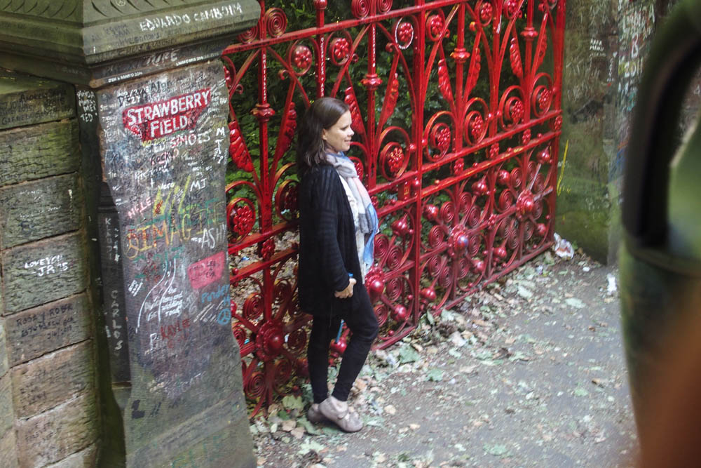 Strawberry Fields Beatles Liverpool